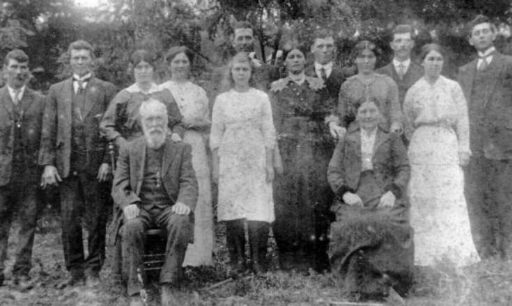 William Mackenzie and Family.