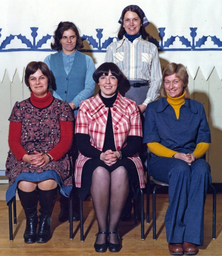 Cromarty Primary School Teachers - 1977