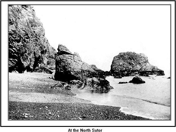 North Sutor Stacks