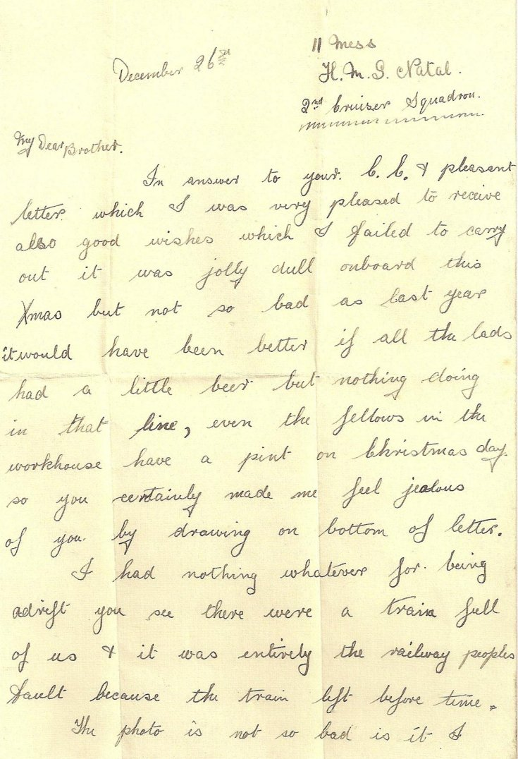 Letter from Arthur Taylor