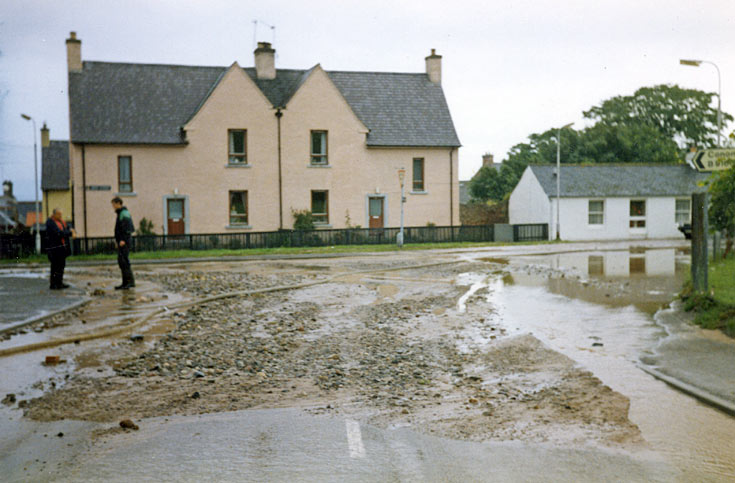 Denny Road flooding in 1986