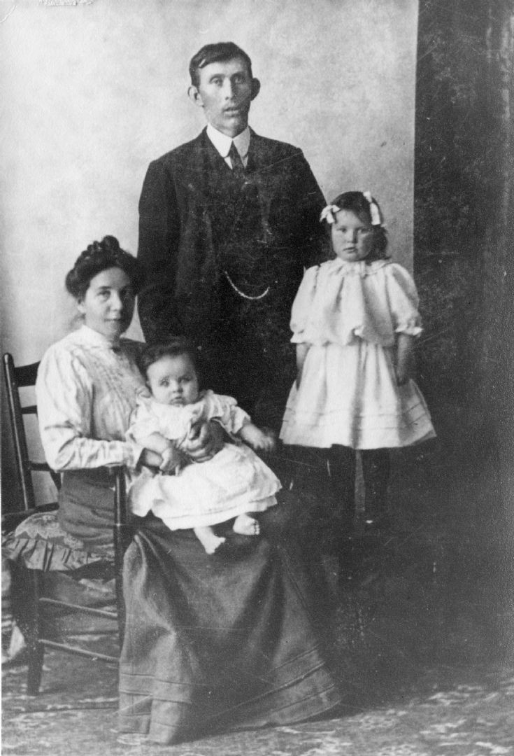 Kenneth Sutherland & family