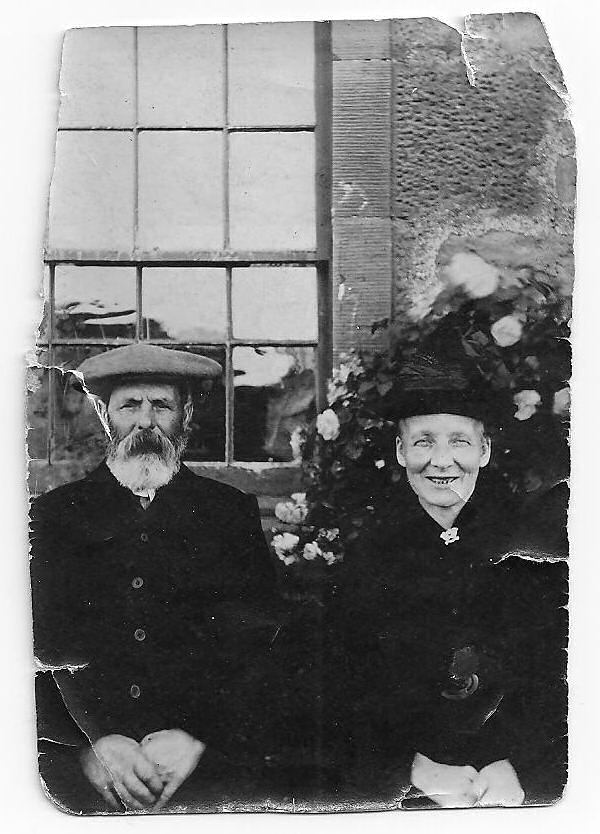 Couple at Cromarty Mains - 1919