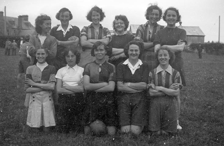 Ladies' Football Team, Cromarty