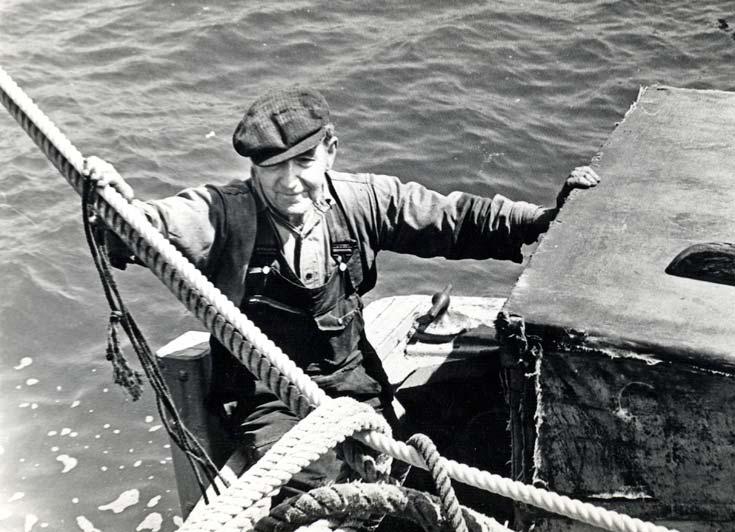 Albert Watson BEM, LSM, Cox'n Cromarty Lifeboat