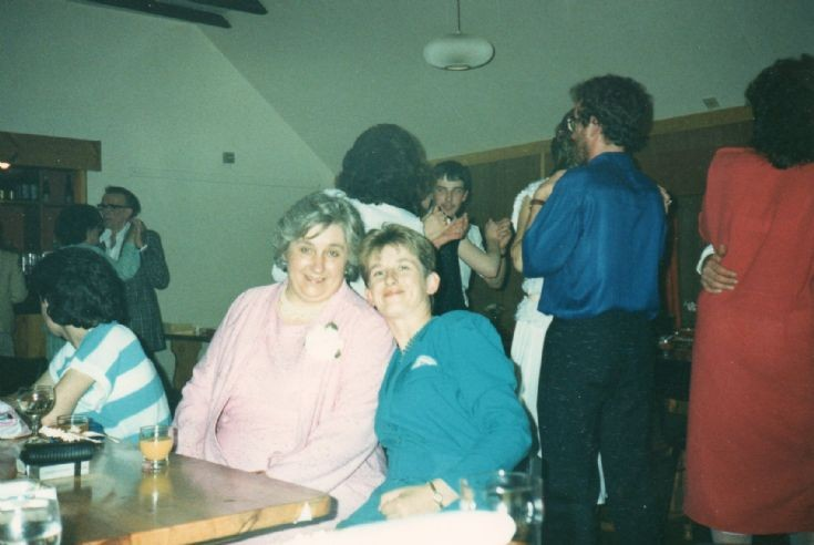 Bobby & Fiona Chisholm in the function room of the Byre