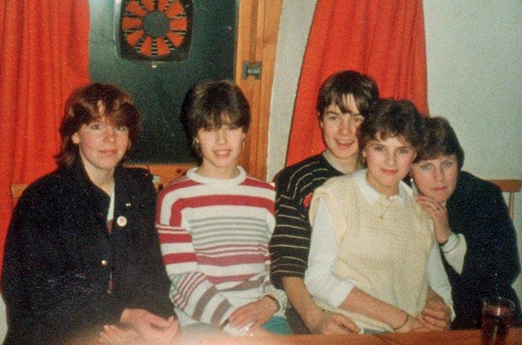 Jacqueline Macleman, Kim Sharp, Terry Owens, Sarina Shepherd, Elaine Macdonald