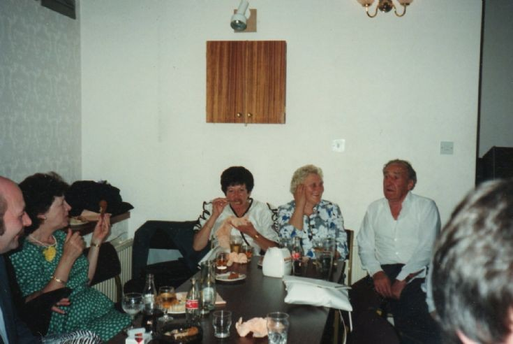 Alan Munro Mary Munro Ann Picket Christel & Ken Shepherd in the British Legion