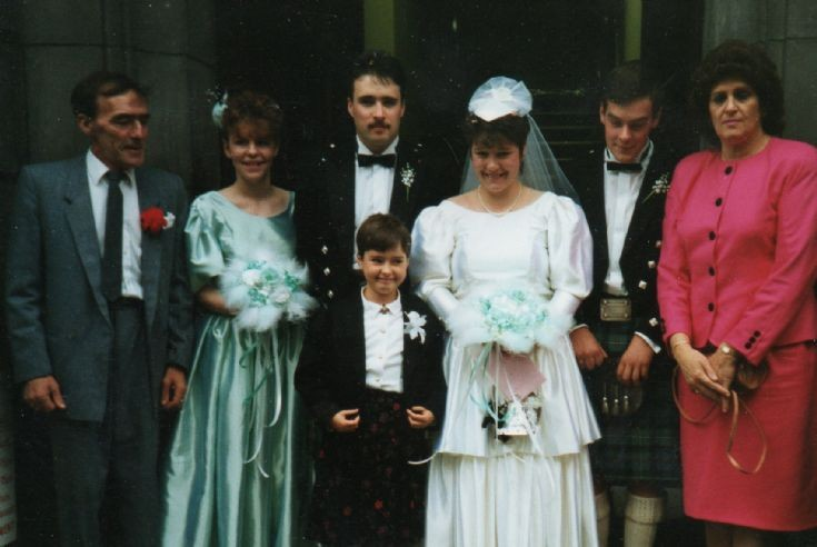 Kim & Paul Shepherds Wedding 1990