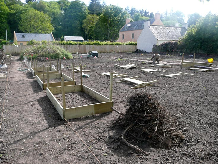 Cromarty Allotments - Raised Beds