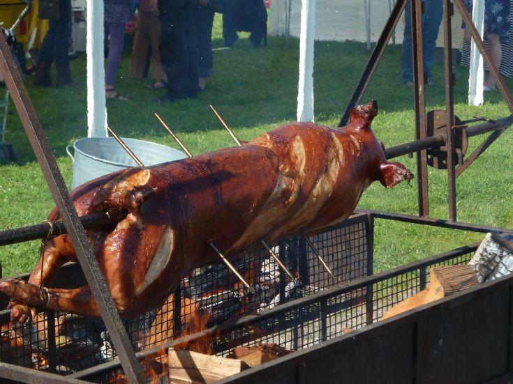 Hog Roast - Cromarty Gala Day 11 August 2012