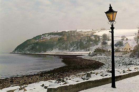 The South Sutor from Shore St - Winter 1998