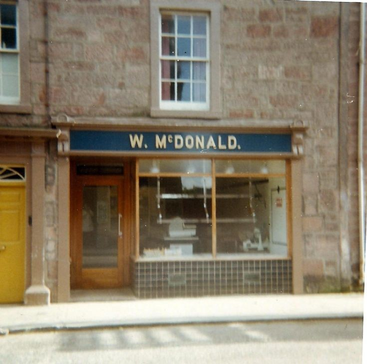 McDonald the Butcher shop, High Street