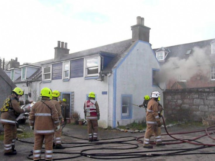 Fire at Shoreline, Shore Street