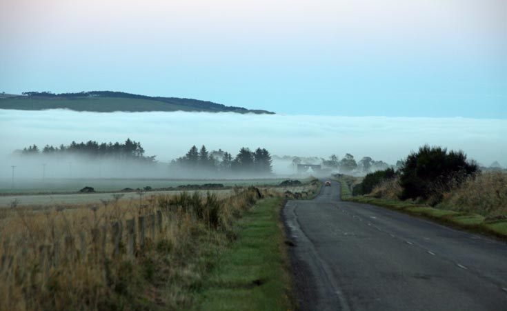 A hauntingly spooky Newton and the North Sutor on 24th October 2012