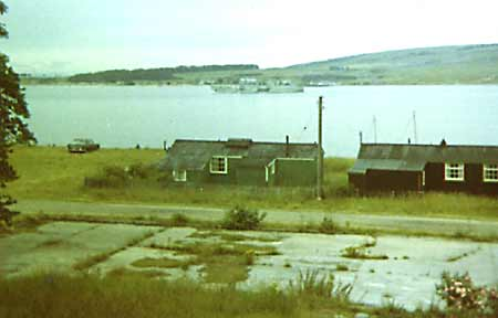 The links showing the Curling Pond - c1959