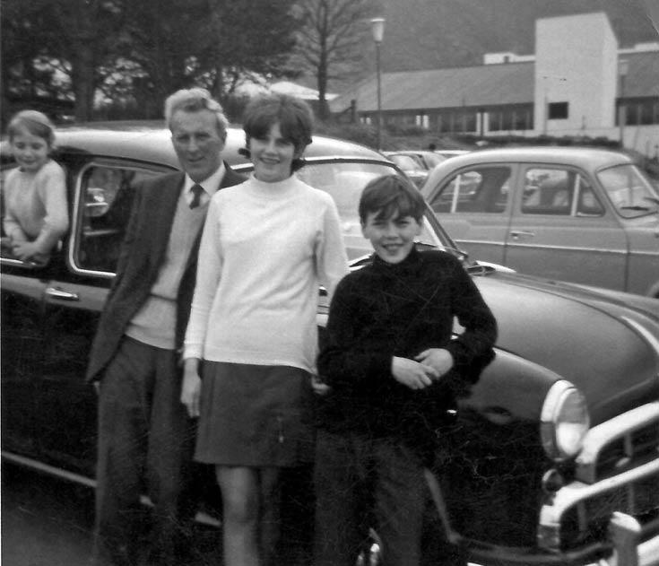 Cynthia Bain, Alla Macdonald, Caroline Bain and Jackie Bain at Aviemore