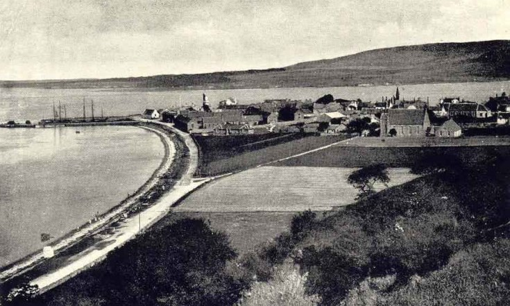 View of Cromarty looking east - c1902