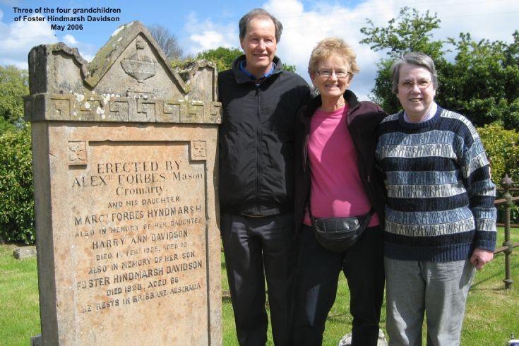 Four grandchildren of Foster Hindmarsh Davidson