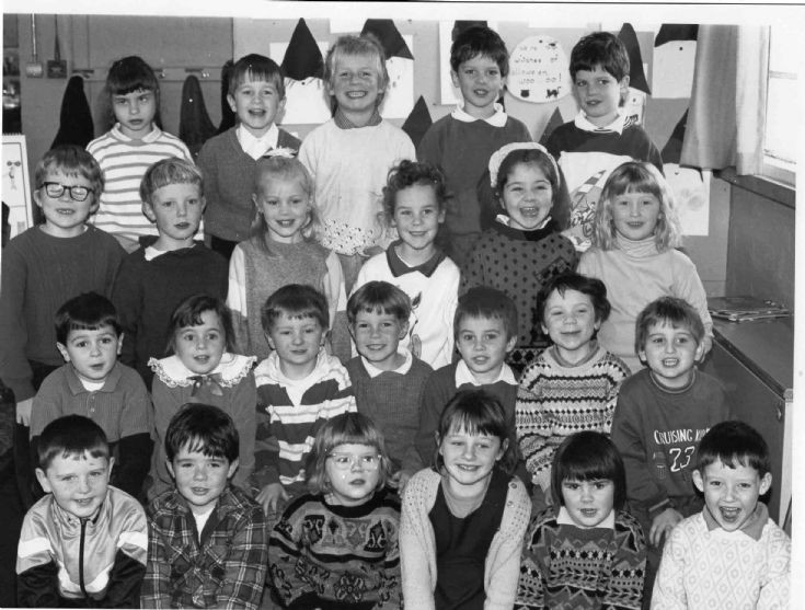 Cromarty Primary 1 and 2 circa 1991