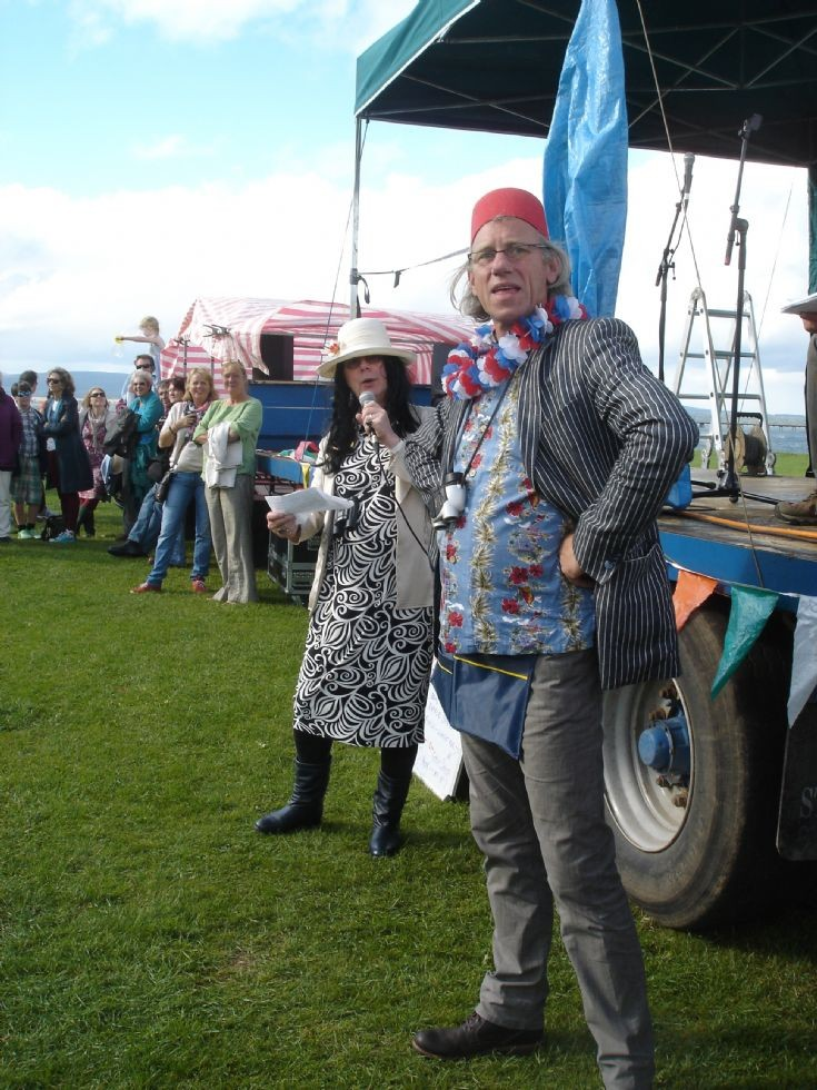 Bunty Fetlock and Jim McColic, Cromarty Gala 2013