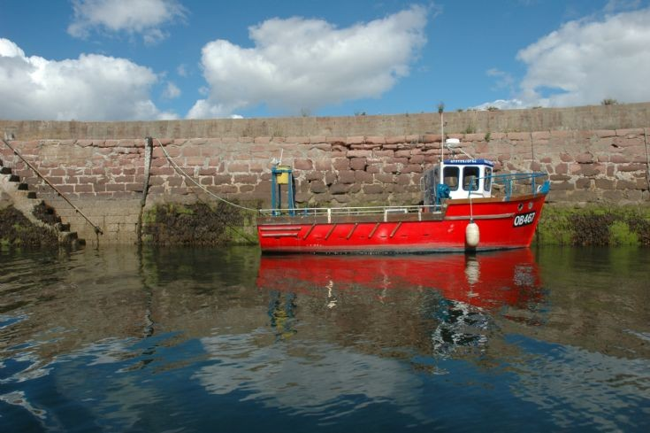 Fishing Boat, Cromarty Harbour, 2013