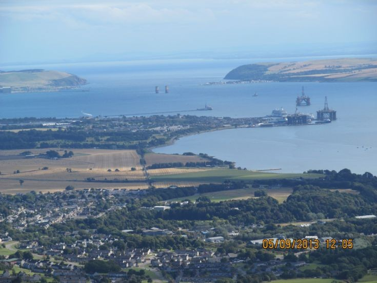 View up the Firth