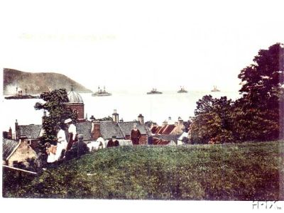 Fleet Entering Firth