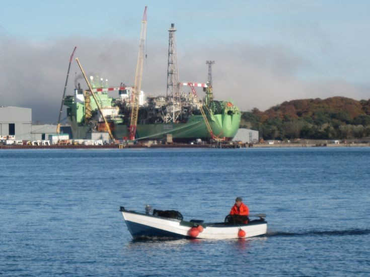 Creel boat