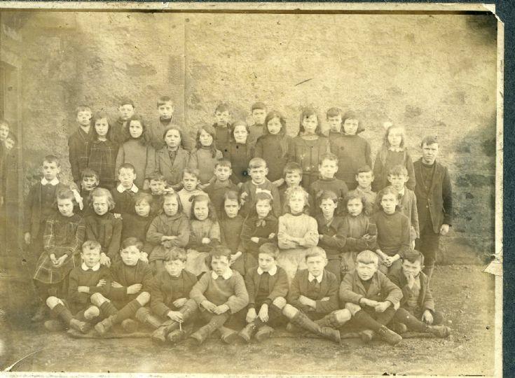 Cromarty school 1918