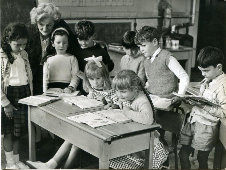 Cromarty school 1964.