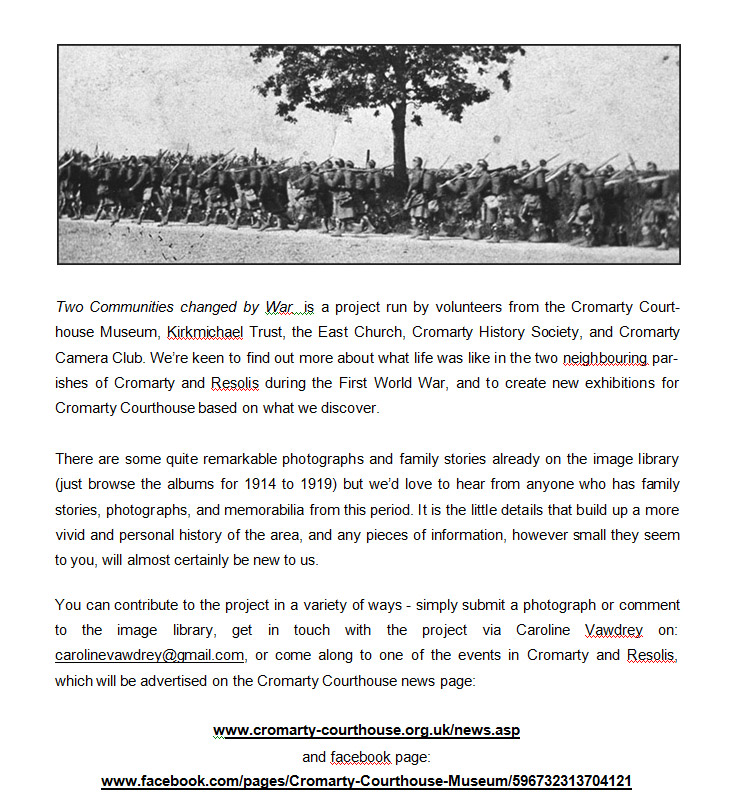 WW1 Project Details
