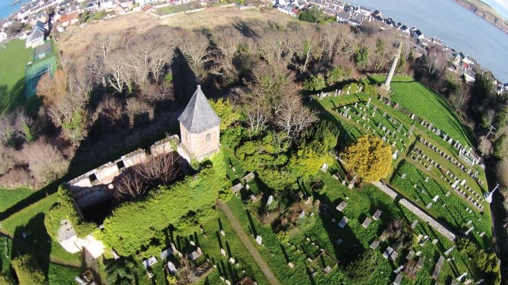 Aerial view of Gaelic Chapel