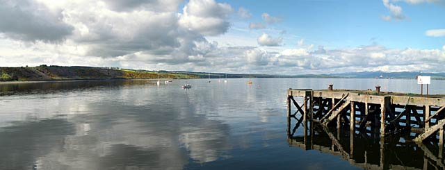Panorama from the harbour
