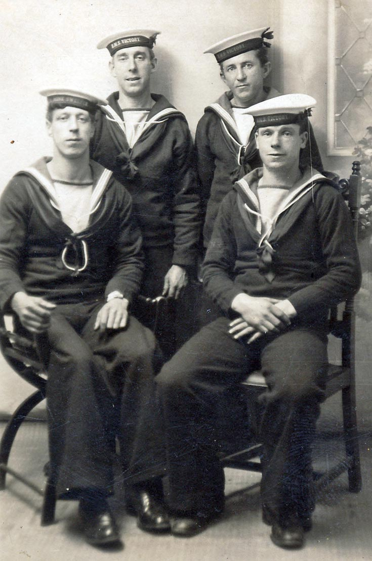 Sailors from H.M.S. Victory