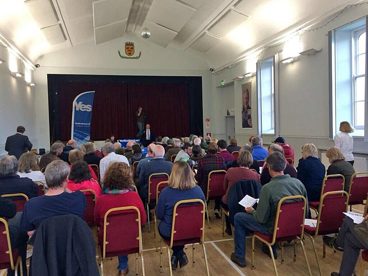 Cromarty 'case for Independence' event