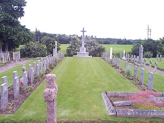War graves by Gaelic Chapel - 2002