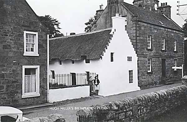 Picture of Hugh Millers Cottage circa 1960