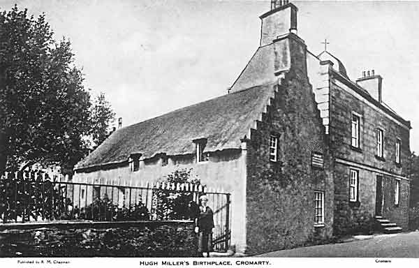 Hugh Millers Cottage circa 1938