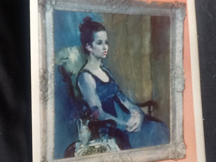 Charles Bannerman portrait of Patricia Maguire