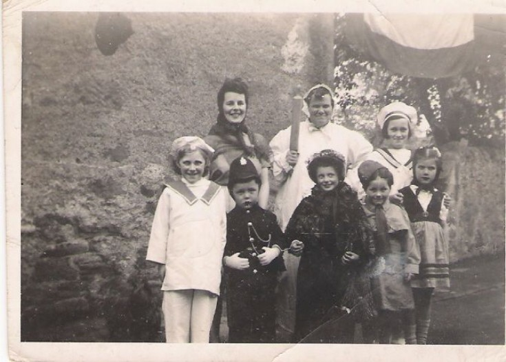Cromarty fancy dress c1944