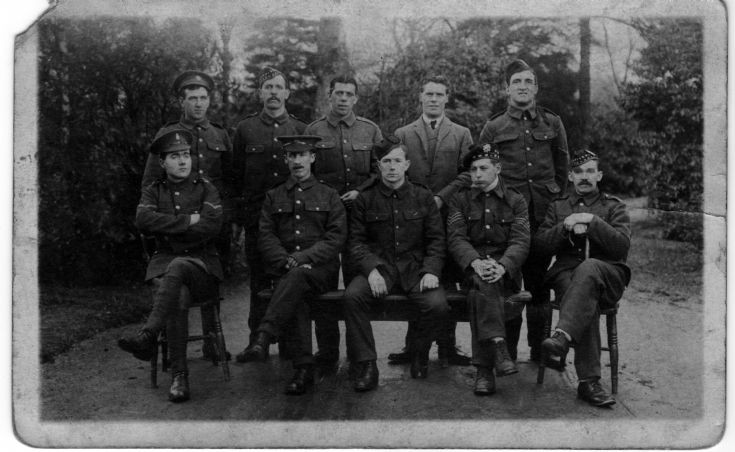 Cromarty men in uniform