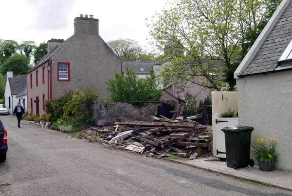 Brownie Hut demolished