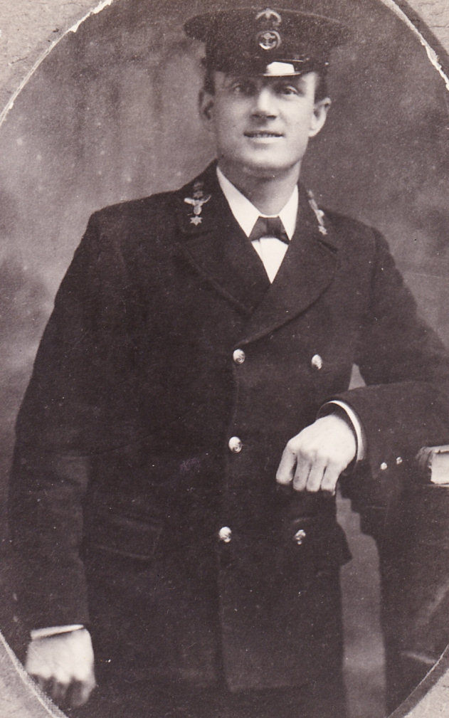 Alfred John Beeny, Mechanician, H.M.S. Natal