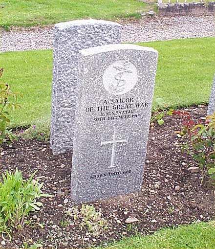 Natal Service Graves in Gaelic Chapel Churchyard