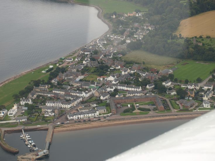 Flying over Cromarty Aug 18th 2011