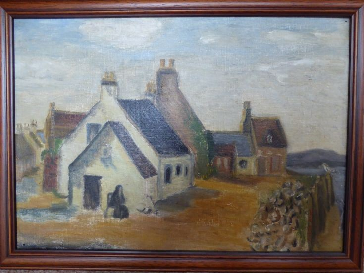 Painting of Shore Street