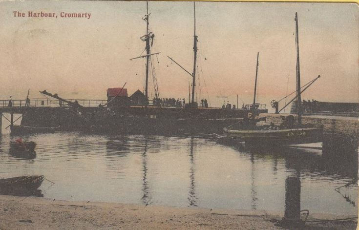 The Harbour, Cromarty in 1900