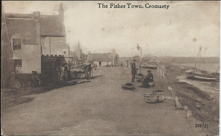 The Fisher Town, Cromarty