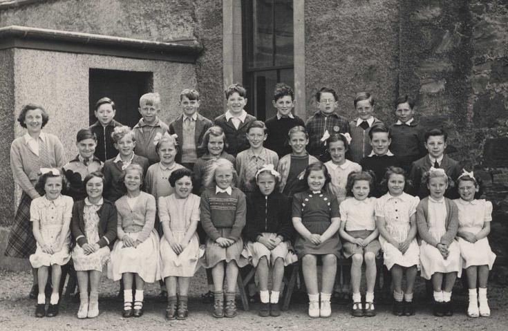 Cromarty Higher Grade School 1953